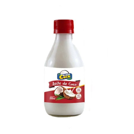 Leite de Coco 200 ml Dinococo