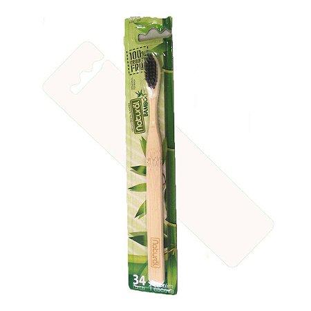 Escova Dental De Bambu Biodegradável - Suavetex