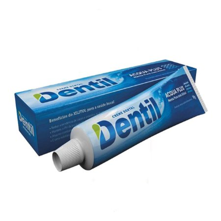 Creme Dental Dentil Acqua Plus Menta c/ Xilitol 90grs