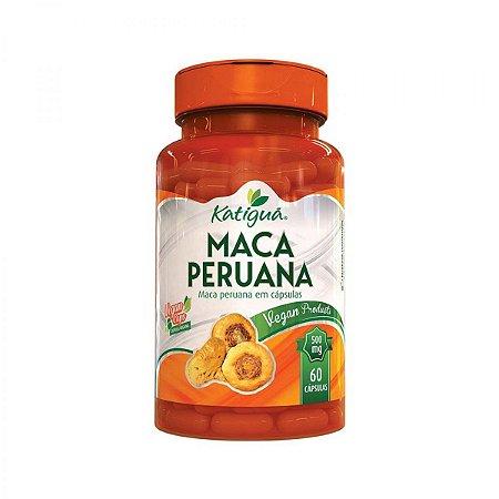 Maca Peruana 60 Cáps 500 mg Katiguá