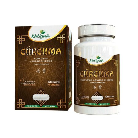Cúrcuma 60 Cáps 400 mg Katigua