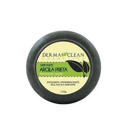 Sabonete Argila Preta 110 grs Derma Clean