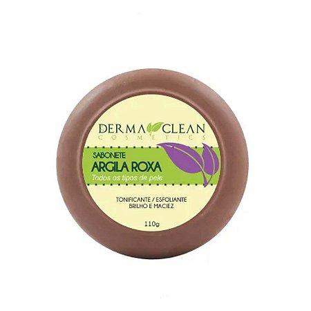 Sabonete Argila Roxa 110 grs Derma Clean