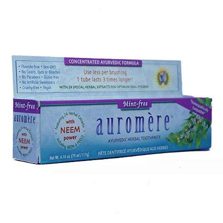 Creme Dental Natural Auromere Mint-Free