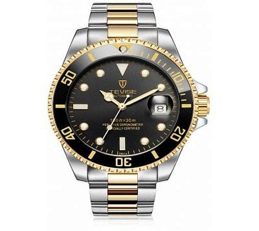 c59d45c40d6 TEVISE T801A Relógio Mecânico para Homem - NETIFRA