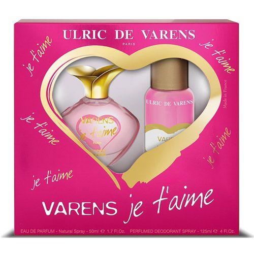 Kit Feminino Varens Je T'aime -Ulric De Varens