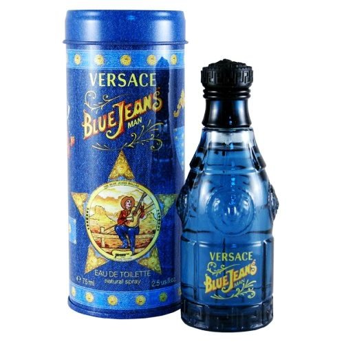 Versace Blue Jeans Man - Perfume Masculino EDT / 75ml