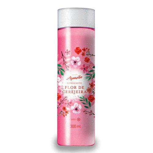 Avon Aquavibe Refrescante Flor de Cerejeira - Colônia Splash Feminina / 300ml