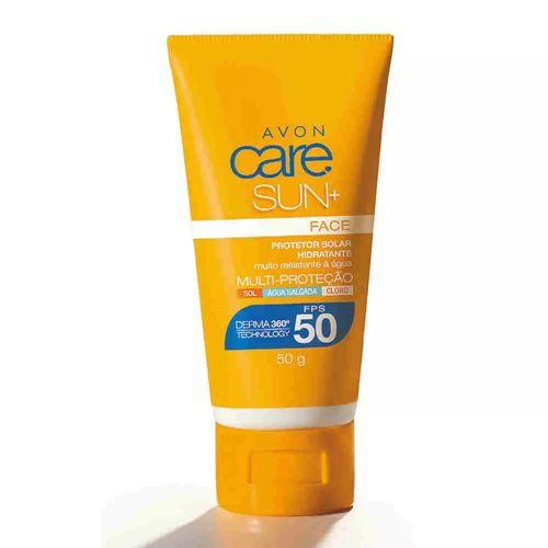 Protetor Solar Facial Avon Care Sun+ FPS 50 / 50g