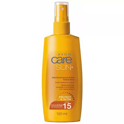 Protetor Solar Spray Toque Seco Avon Care Sun+ FPS15 / 120ml