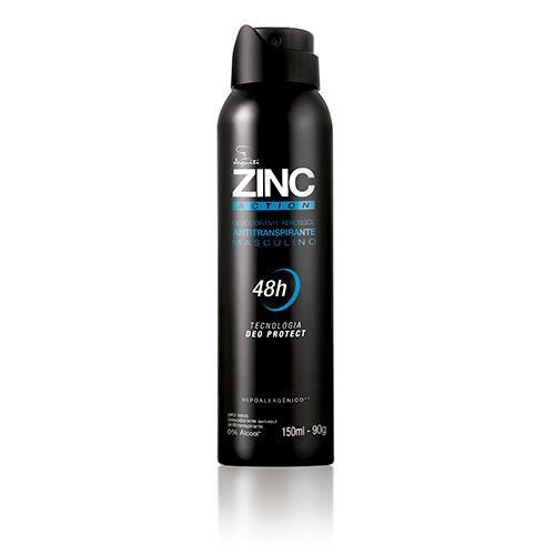 Jequiti Zinc Action - Antitranspirante Masculino / 150ml