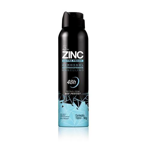 Jequiti Zinc Extra Fresh - Antitranspirante Masculino / 150ml