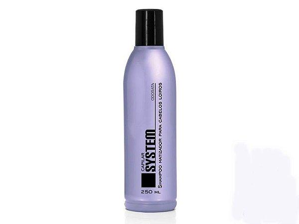 Odorata Capilar System - Shampoo Matizador Para Cabelos Loiros / 250ml