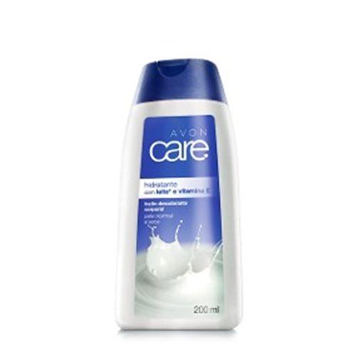 Loção Hidratante Avon Care - Leite e Vitamina E / 200ml
