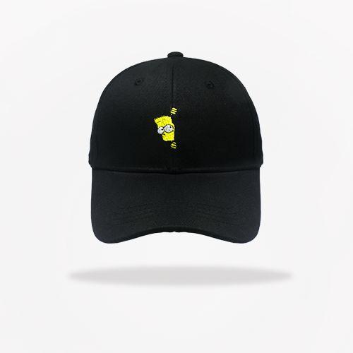 Dad Hat Bart Simpson - Black - Brothers Place f348eda7fd3