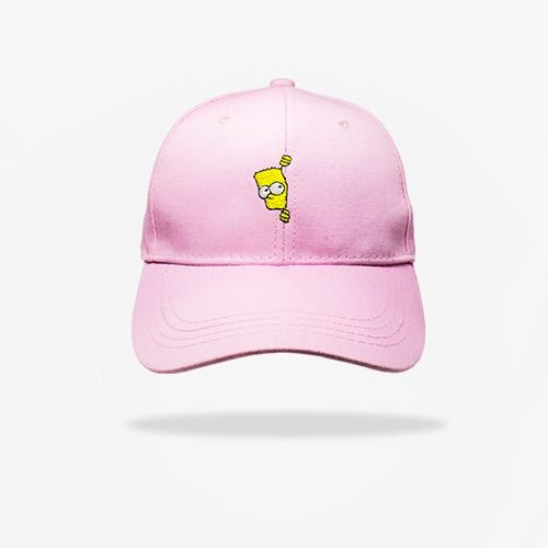 Dad Hat Bart Simpson - Pink - Brothers Place 85376b8a94f