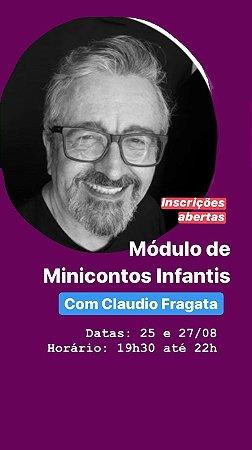 Módulo de Minicontos infantis com CLAUDIO FRAGATA