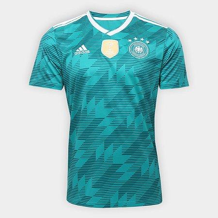 e0a5df169f Camisa Seleção Alemanha Home 2018 s n° Torcedor Adidas Masculina - Verde
