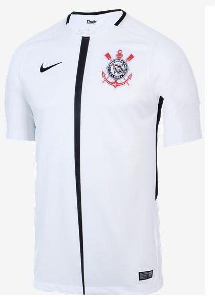 662792b3e8 Camisa Corinthians I 18 19 s n° Torcedor Nike Masculina - Branco e ...