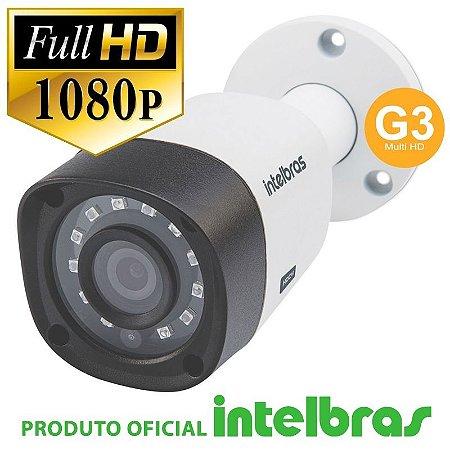 CÂMERA BULLET FULL HD 1220B G3 MULTI HD - INTELBRAS