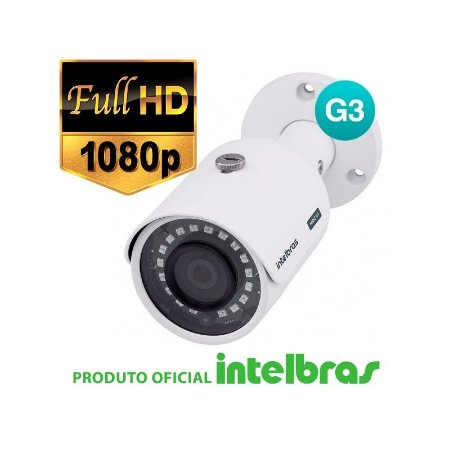 CÂMERA INTELBRAS FULL HD VHD 3230B G3 MULTI HD