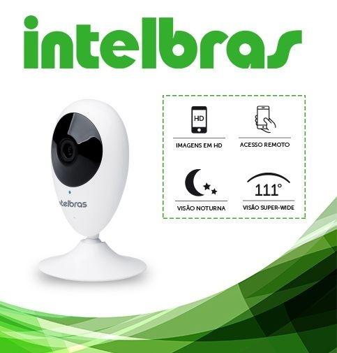 CÂMERA WI-FI INTELBRAS HD MIBO IC3