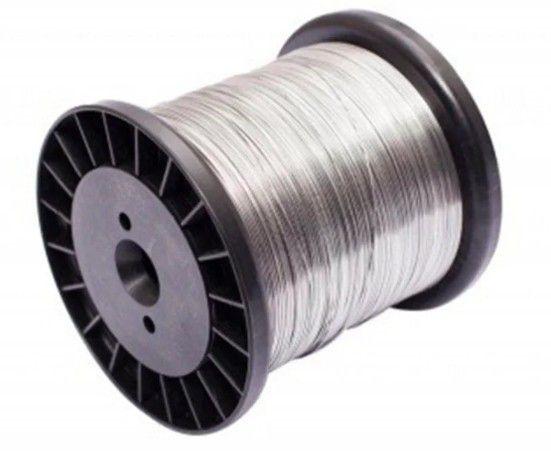 Fio de Aço Inox para Cerca Elétrica 0,70mm - 270 Metros