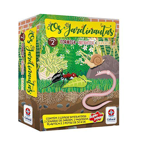 Os Jardinautas Volume 2 - Formiga, Minhoca e Caracol