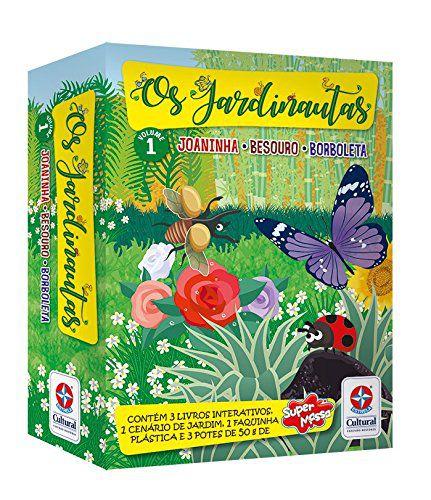 Os Jardinautas Volume 1 - Joaninha, Besouro e Borboleta