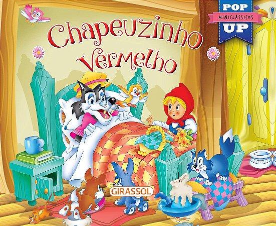 Coleção Miniclássicos Pop-Up - Chapeuzinho Vermelho