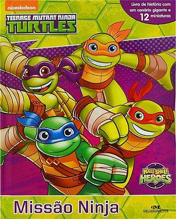 Nickelodeon Tartarugas Ninja - Missão Ninja