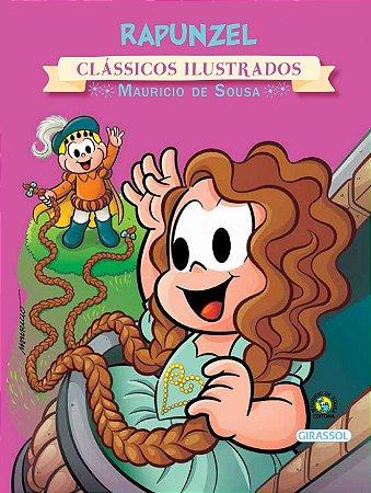 Turma da Mônica Clássicos Ilustrados - Rapunzel