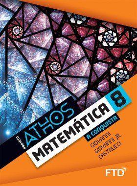 Conjunto Projeto Athos 8 - Matemática - A Conquista