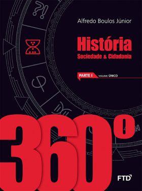 Conjunto 360° - História - Sociedade e Cidadania - Volume Único