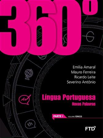 Conjunto 360º -  Língua Portuguesa - Novas Palavras - Volume Único