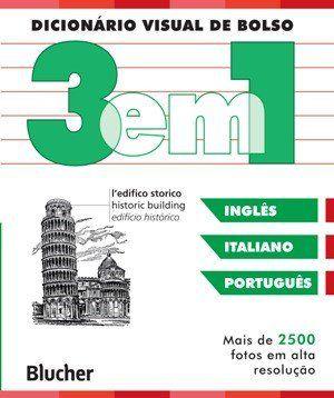 Dicionário Visual de Bolso 3 em 1 - Inglês / Italiano / Português