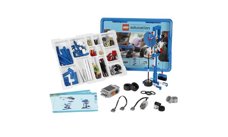 Lego Education 9686 - Máquinas Simples e Motorizadas - STEM