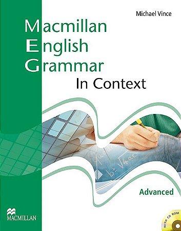 Macmillan Eng. Grammar In Context With CD-Rom-Advanced (No-Key)