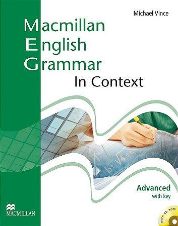 Macmillan Eng. Grammar In Context With CD-Rom-Advanced (W/Key)