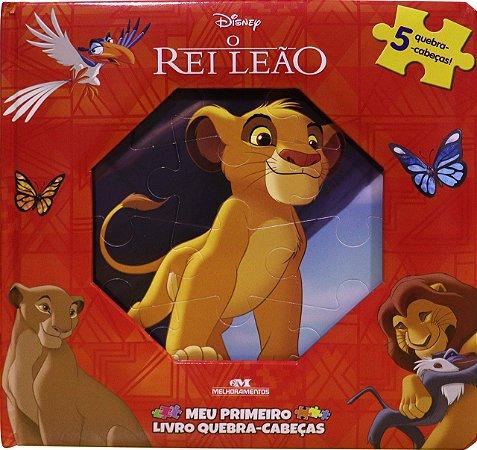 O Rei Leão – Meu Primeiro Livro Quebra-Cabeças