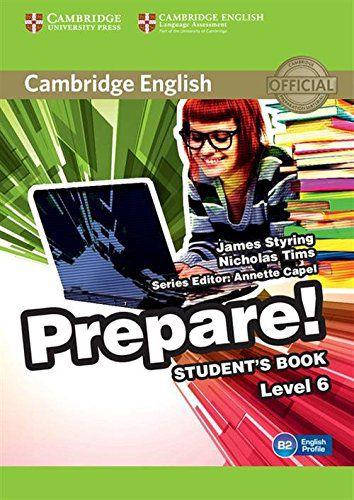Cambridge English Prepare! 6 - Student's Book