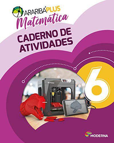 Araribá Plus - Matemática 6º Ano - Caderno de Atividades - 5ª Edição