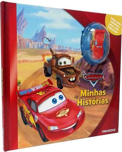 Carros - Minhas Histórias - Livro e Miniatura