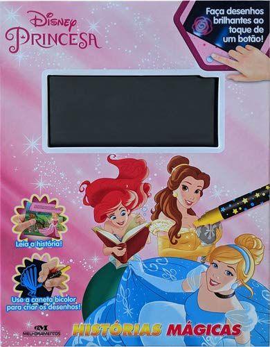Princesas - Histórias Mágicas - 6 Efeitos de Luzes