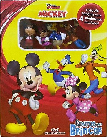 A Casa do Mickey Mouse: Contos para Brincar - Livro com Miniaturas