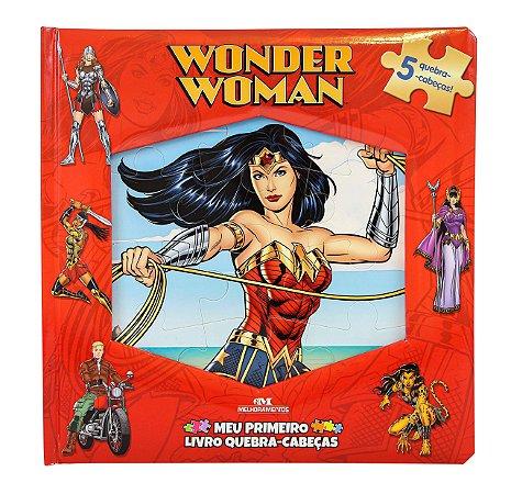 Wonder Woman - Mulher Maravilha - Meu Primeiro Livro Quebra-Cabeças