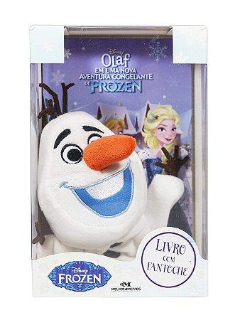 Frozen - Olaf em uma Nova Aventura Congelante de Frozen - Livro com Fantoche