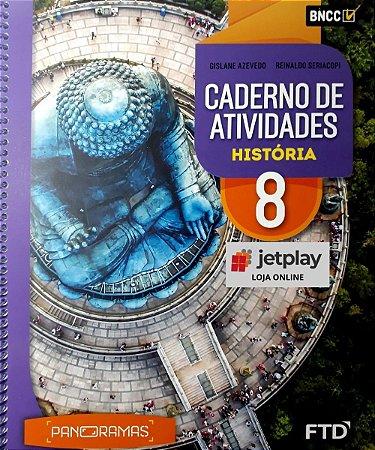 Caderno de Atividades Panoramas - Historia - 8º Ano
