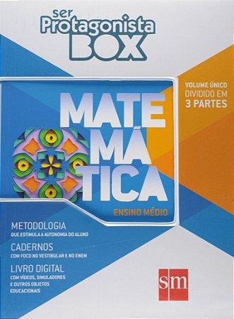 Ser Protagonista - Matemática - Volume  Único - BOX - Edição 2015