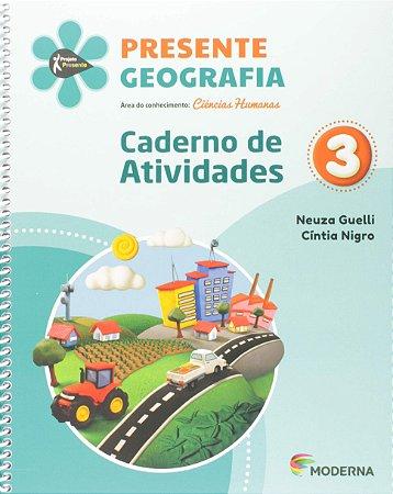 Presente Geografia 3 - Caderno de Atividades - Edição 5